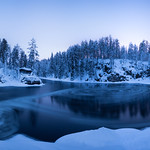 Blue Hour at Myllykoski thumbnail