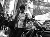 Chai (tea) with a Gai (cow) (magiceye) Tags: chai tea gai cow street streetphoto streetportrait mumbai india monochrome blackandwhite bnw