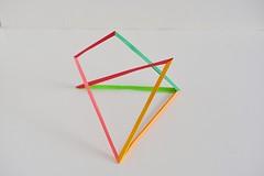 Irregular Hyperboloidal Polarly Diminshed Quasi-Crossed Triangular Prism (Byriah Loper) Tags: origami origamimodular modularorigami modular byriahloper paperfolding paper polygon polyhedron geometric