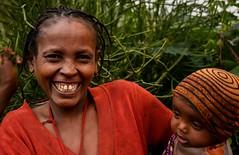 Wollayta Mother (Rod Waddington) Tags: africa african afrique afrika äthiopien ethiopia ethiopian ethnic etiopia ethnicity ethiopie etiopian woman wollaita wolayta wollayta mother child portrait outdoor culture cultural