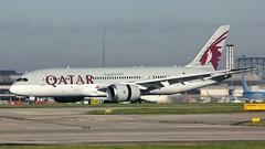 A7-BCK (AnDyMHoLdEn) Tags: qatar 787 dreamliner oneworld egcc airport manchester manchesterairport 23r