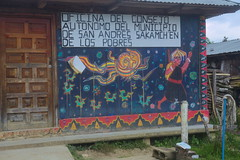 Oventic - Caracol Zapatistas (Haulric) Tags: zapatistas ezln oventic mexico painting