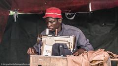 Sewing in Soweto (jacbfotografie.co.uk) Tags: africa soweto street portrait sewing machine mandela south jacbfotografie