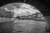 Sur la Seine II (françoispeyne) Tags: enfrance paname paris seine noiretblanc blackwhite