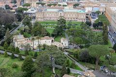 Päpstliche Akademie der Wissenschaften und Pinakothek (Markus Wollny) Tags: city vatikan rom cittàdelvaticano vatikanstadt it