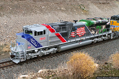 Sprit of the Union Pacific (jamesbelmont) Tags: spiritoftheunionpacific unionpacific emd sd70ah armedforces 1943 erda tooele utah railway