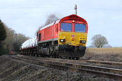 66230 (4V28) (Worcestershed) Tags: 66230 class66 ews dbc dbcargo