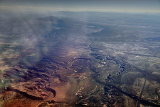 Meanders and Twists of the Colorado River
