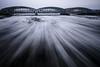 Treibeis II (Kai-Uwe Klauss) Tags: eis hamburg winter treibeis hh elbbrücken elbe wischeffekt langzeitbelichtung bewegung wasser frost