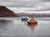 14 - Portree Lifeboat (Donnie Canning) Tags: wwwdonniephotographycouk donnie donniecanning olympus microfourthirds photography photo photographer lens canning em1 1240mm pro 2018 scotland highlands january portree harbour skye isleofskye outerhebrides sky skyline cloud sun outdoor landscape land ground foreground nature naturalworld view vista boats lifeboat