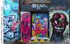 Graffiti, Art Alley, St Catharines (jwvraets) Tags: stcatharines artalley graffiti backalley wall art colourful opensource rawtherapee gimp nikon d7100 nikkor1224mm