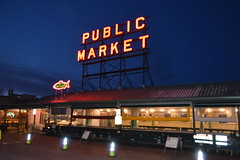 Pike Place 7 (Krasivaya Liza) Tags: pike place market pikeplace pikeplacemarket flowers fish veggies stalls vendors fruit seattle wa washington state pac northwest pacific puget sound waterfront city urban cityscape street streets art snow snowy winter feb 2018