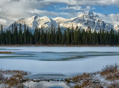 Buller Pond (Philip Kuntz) Tags: bullerpond ponds smithdorrientrail sprayvalleyprovincialparkway ice kananaskiscountry alberta canada