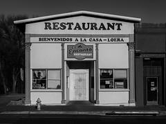 El Encanto (ddurham000) Tags: restaurant newmexico lasvegasnewmexico blackandwhite