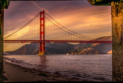 GG Bridge Frame In Pier Frame 3 (jeffzias) Tags: sf golden gate bridge goldengate