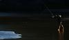 throwing... (f_glasinovic) Tags: fishing sunrise sea beach throwing contrast sidelight
