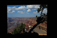 El gran Cañón desde la ventana/ Grand Canyon from the window (Miguel Ángel Yuste) Tags: grandcanyon grancañón grandcanyonnp usa arizona