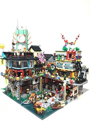 Ninjago City extension (Keith_Prefect) Tags: lego legophoto ninjago city architecture moc legomoc ninjagocity bladerunner cyberpunk akira toy plastic bricks retrofuture