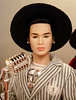 With hat and microphone (Deejay Bafaroy) Tags: fashion royalty fr doll puppe homme male tate integrity toys it industry tatetanaka porträt portrait stripes streifen striped gestreift hat hut