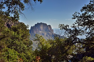 Boot Rock Just Beyond the Trees (Big Bend National Park)