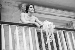 "anticipate (listening to ""i love how you love me"", neutral milk hotel) (haint_blue) Tags: mississippi wedding bride portrait bridal blackandwhite monochrome classic beauty biloxi beauvoir"