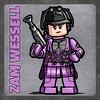 Zam Wessell (Catanas) Tags: lego star wars bounty hunters zam wessell episode 2 attack clones chase clawdite