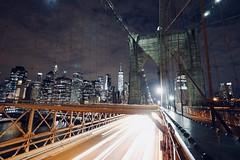 Brooklyn Bridge ! (Boutillier Geoffrey) Tags: lumix818 luc818 818 gx7 lumix panasonic grandangle ville city pont bronx america usa manhattan night nightpictures pictures ilivenewyork newyorkcity newyork ny brooklynbridge bridge brooklyn