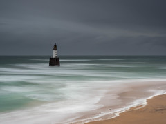 Rattray Head Lighthouse (burnsmeisterj) Tags: olympus omd em1 rattrayhead lighthouse scotland sky sea beach waves