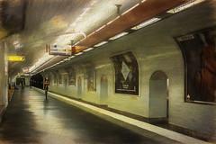 Paris, metro Balard