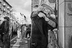 Mainz Street Rosenmontag Frau 459 b&w (rainerneumann831) Tags: bw blackwhite street streetscene ©rainerneumann urban monochrome candid city streetphotography blackandwhite frau mainz rosenmontag