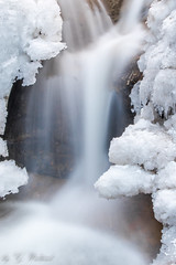 Ice and Water (Aroundniceplaces) Tags: ice water snow winter switzerland muri river steam waterfall day nature daytime forest long exposure cold white stone rock hobby