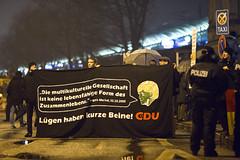 klslene95 (Felix Dressler) Tags: hamburg merkelmussweg kundgebung dammtor protest reichsbürger pegida