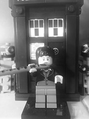 The Second Doctor (TheTurquoiseTortilla) Tags: classic tv minifig scifi purist thedoctor theseconddoctor patricktroughton lego doctorwho