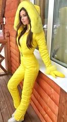 yellow (skisuitguy) Tags: skisuit snowsuit ski snow suit skiing skifashion skiwear skioutfit skibunny snowbunny onepieceskisuit onepiecesuit onesie onepiece skianzug skidress allinone