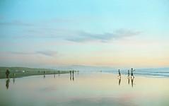 Ocean beach (-Alberto_) Tags: 35mmfilm nikonfe kodakportra sanfrancisco seascape nikkor50mm12