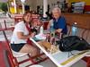 At Flamboyen after Gibara bike ride (Hear and Their) Tags: flamboyan guardalavaca hotel atlantico amigo cuba