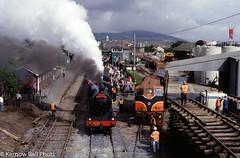 461 at Arklow on the 'Sea Breeze' (Kernow Rail Phots) Tags: ireland cie irishrail iarnródéireann eire train trains railway railways railroad 1998 september 461 seabreeze arklow railtour dublin rosslare scenic sunny steam locomotive 155