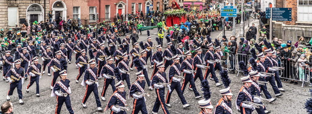 DUBLIN SAINT PATRICKS PARADE 2018 [THE MARCHING ILLINI]-137416