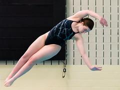 Alicia Erami (sophomore) - back dive half twist (Frank Oller) Tags: aliciaerami whs wrc diving highschool pool sophomore waterford windham
