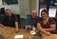 180316 Dinner at the Suncourt Hotel - Lyndsay Caley, Brian & Tracy D (Gary Danvers Collection) Tags: reunion taupo