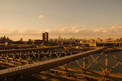 view of manhattan from brooklyn bridge (azconajuan) Tags: springtime brooklynbridge manhattan bridge brooklyn newyork