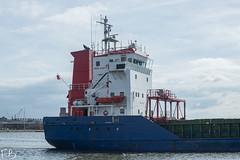 Naos (frisiabonn) Tags: naos cargo vehicle ship water wirral liverpool england uk britain marine vessel river mersey merseyside sea shore waterfront maritime boat outdoor bridge