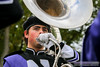 Stoic Sousa (Daniel M. Reck) Tags: b1gcats dmrphoto date1028 evanston illinois numb numbhighlight northwestern northwesternathletics northwesternuniversity northwesternuniversitywildcatmarchingband unitedstates wildcatalley year2017 band college education ensemble horn instrument marchingband music musicinstrument musician school sousaphone tuba university