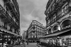 The streets of Paris (Scott Shields Photo) Tags: notre dame paris cathedral 2018 black white bw
