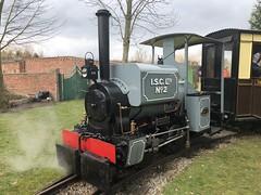 Kerr Stuart 3128 'Roger', Statfold Barn Railway, 24/03/2018 (Alex Fairlie) Tags: statfoldbarnrailway sbr kerrstuart kerrstuart3128