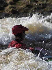 M2248325 E-M1ii 300mm iso400 f5.6 1_3200s SingleAF (Mel Stephens) Tags: action sport people transport uk scotland aberdeen 20180324 201803 2018 q1 3x4 tall water river olympus mzuiko mft microfourthirds m43 300mm pro omd em1ii ii mirrorless kayak kayaks kayaker kayakers peer paddle sports persley don