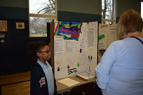 02/27/18 - Science Fair Winners at the Elementary School