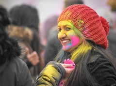 Festival of Colour (Holi) - Leicester (Nina_Ali) Tags: holi holi2018 festivalofcolour leicester abbeypark paint vibrant 3march2018 peoplephotography peopleoftheworld smiles fun happiness