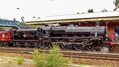 44932 Winchfield 5 August 2010 (21) (BaggieWeave) Tags: steamengine steamlocomotive steam steamtrain 44932 black5 blackfive hampshire winchfield cathedralsexpress 460