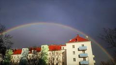 Today's Rainbow (EPGraphics) Tags: regenbogen rainbow wetter weather austria vienna wien österreich